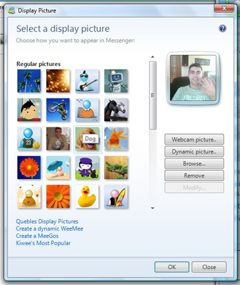 Confirm. Msn messenger webcam